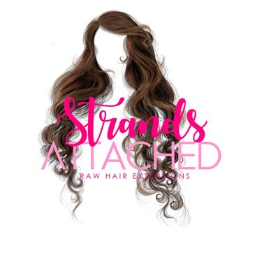 Strands attached a raw hair collection