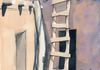 Acoma Ladder - Watercolor - SOLD