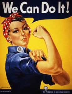 WWII poster Rosie the Riveter We can do it