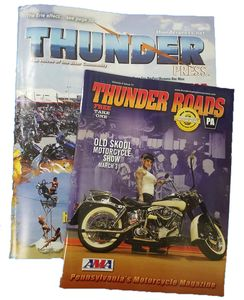 Thunder Roads & Thunder Press Most Popular Motorcycle Free Magazines