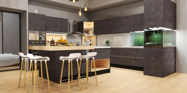 Space planning, layout design, interior design, kitchen design, rendering and visualization
