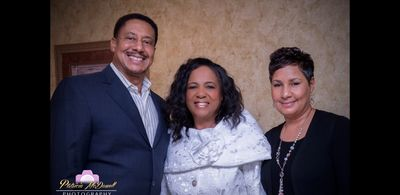 Esther's Pastor and First Lady, Rev. Marvin N. Miles and Lady Carolyn Miles