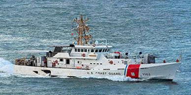 USCGC Richard Etheridge (WPC-1102) uses Foothills Products Rat Guards