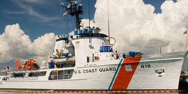 USCGC Diligence (WMEC-616) uses Foothills Products OffBoard Rat Guards.