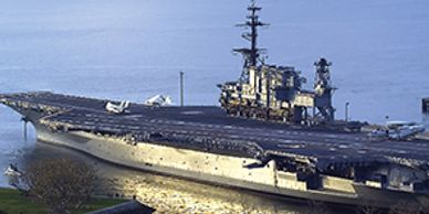 USS Midway (CV-41) uses Foothills Products Inc OffBoard Rat Guards