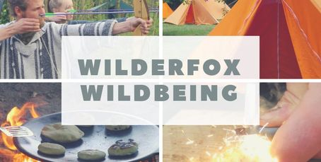 wilderfox wildbeing wellbeing weekend bushcraft survival skills archery fire steel open fire muurica