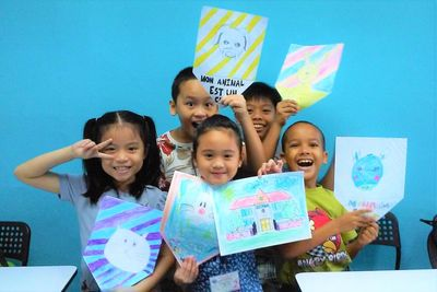 French Group Class for Children at French Language Academy, Singapore