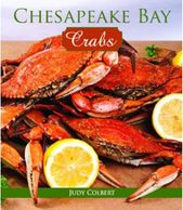 Photo of cover of book Chesapeake Bay Crabs with text and photos by Judy Colbert