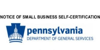 Pennsylvania small business certification.