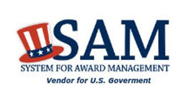 Registered With System For Award Management (SAM) Vendor U.S. Government