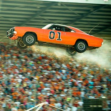 Corey Jumping the General Lee at Dukefest