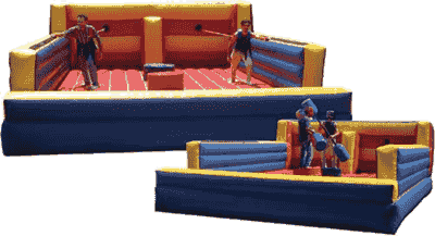 AZ inflatable bungee run, joust and game rentals.