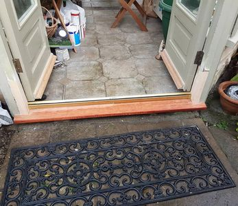 Conservatory cill repair