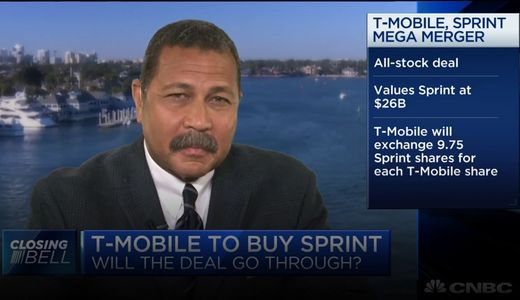 Adonis Hoffman talks Sprint - T-Mobile merger on CNBC