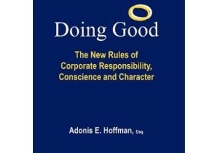 Doing Good, corporate responsibility, Adonis Hoffman