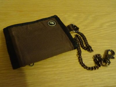 A travel wallet with a chain is a useful – though not foolproof – deterrent to pick-pockets.
