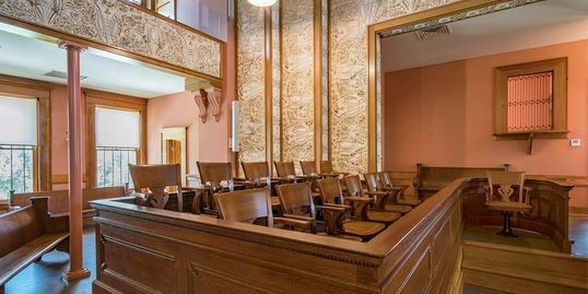 Navarro County 13th Judicial District Courtroom