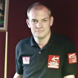 The Snooker Barn Coach Mr. Andrew Green
