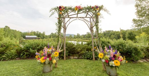 Wedding Arbor - Christian Arthur Photography