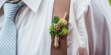 Boutonniere,  Hannah Weddings Photography