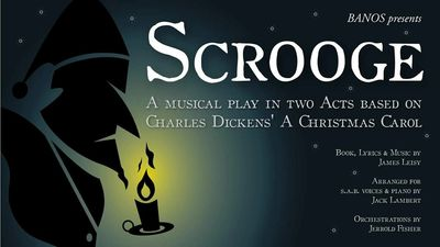 Click on this image to download the audition pieces, backing tracks and audition form for Scrooge