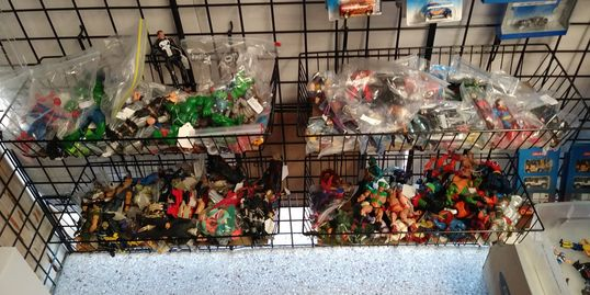 Used Toys, Action FIgures, Loose Toys, Unpackaged Toys