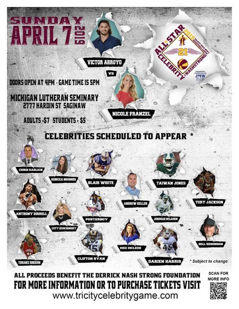 All Star Basketball game April 7