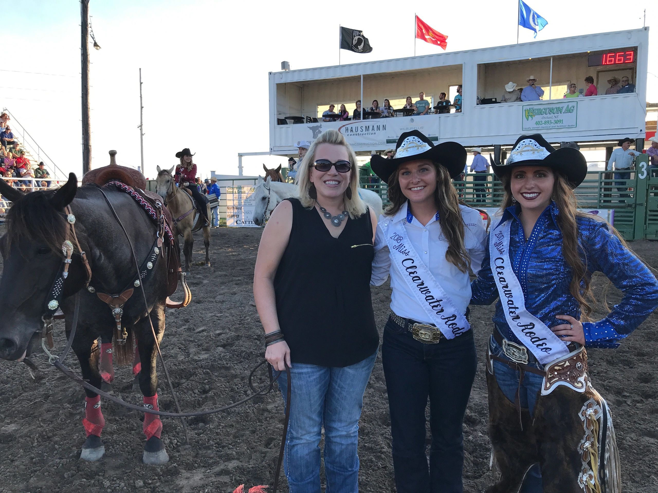 Cedar Rapids native named Miss Clearwater Rodeo 2018