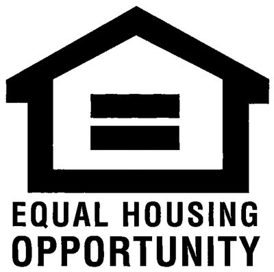Equal Housing Opportunity. We don't discriminate.