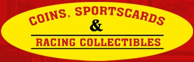 Coins, Sportscards, and Racing Collectibles