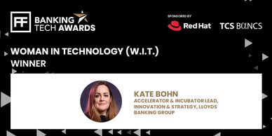 Woman in Tech - leadership award WINNER