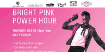 Bright Pink Power Hour Westfield Center Breast Cancer Awareness Event