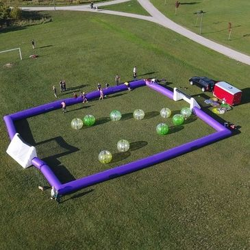 Travel Bubble Soccer Events