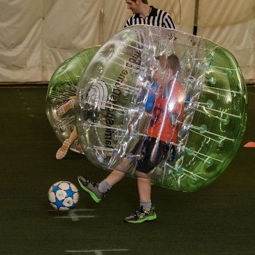 Bubble Soccer Parties