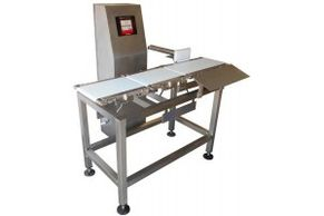 drag chain or belt conveyor  in-motion checkweighers for small packagages up, to 10 kg