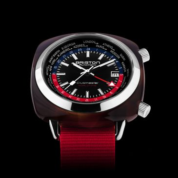Briston Watches Clubmaster GMT Traveler available at Time and More UK Ltd