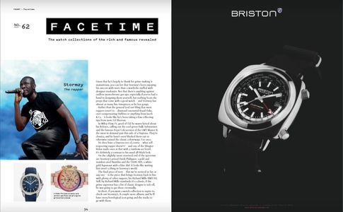 Briston Watches Clubmaster Traveler Worldtime GMT available at Time and More UK Ltd