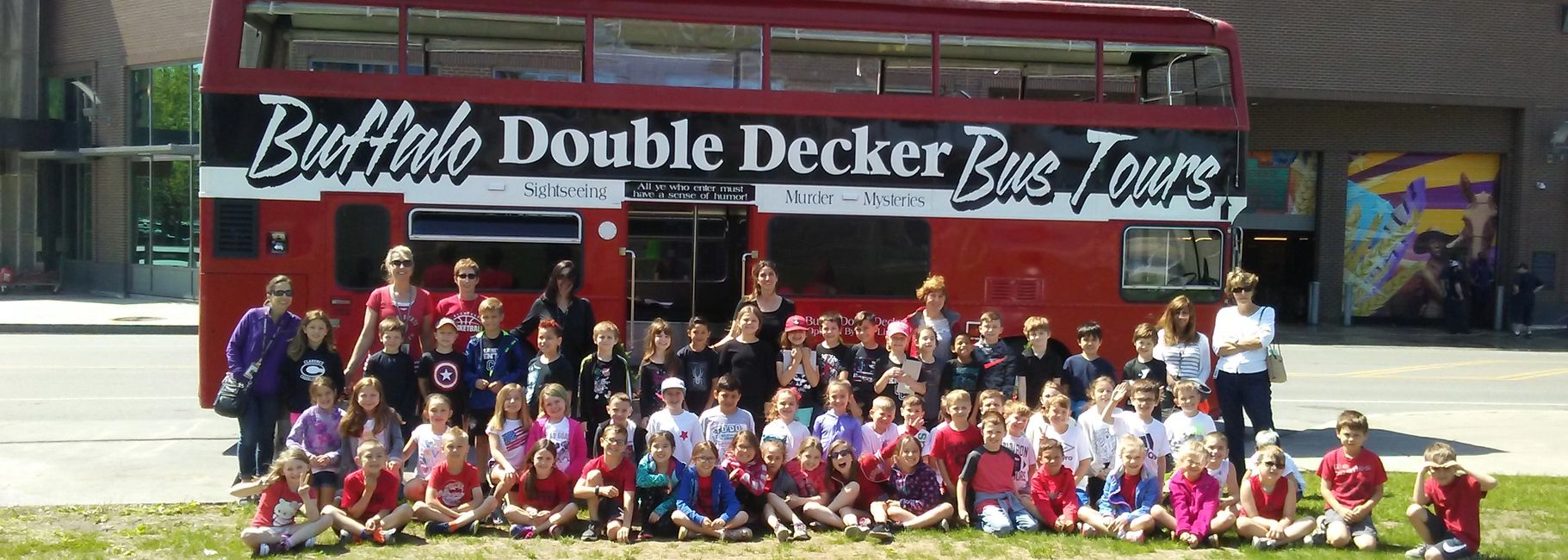 Student tours buffalo ny.  Educational tours aboard a double decker bus.