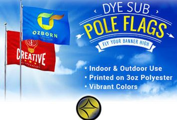 e14 Designs, Printing, Design, Print, Websites, Graphic design, Custom design, pole flags, Indoor and outdoor flags, deals