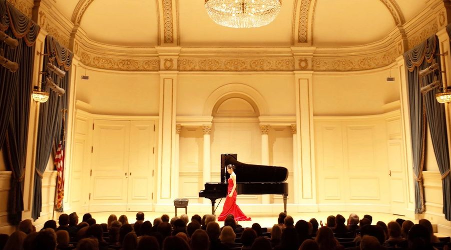 Solo Recital at Carnegie Hall in New York