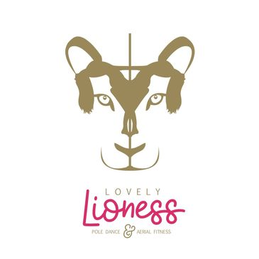 Lovely Lioness Pole Dance & Aerial Fitness logo.