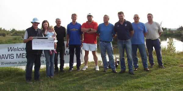 The first fishing of the Grant Davis Memorial Cup match, Evesham Jubilee Angling Society