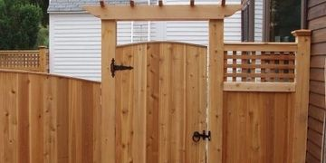 fence, vinyl fence, wood fence, chain link fence, aluminum fence