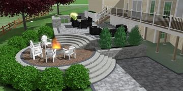 landscape design, 3D design, outdoor living, landscape architect