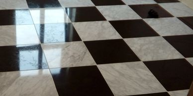 Stone floor cleaning Nottinghamshire, natural stone cleaning, Minton floor cleaning in Nottingham