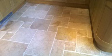 travertine floor cleaning South Yorkshire