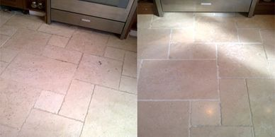 travertine floor cleaning Lincolnshire