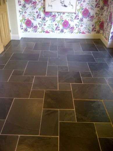 Slate floor cleaning in Nottinghamshire Derbyshire Lincolnshire Warwickshire Yorkshire