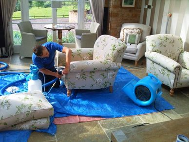 carpet and upholstery cleaning in Nottingham and Derby