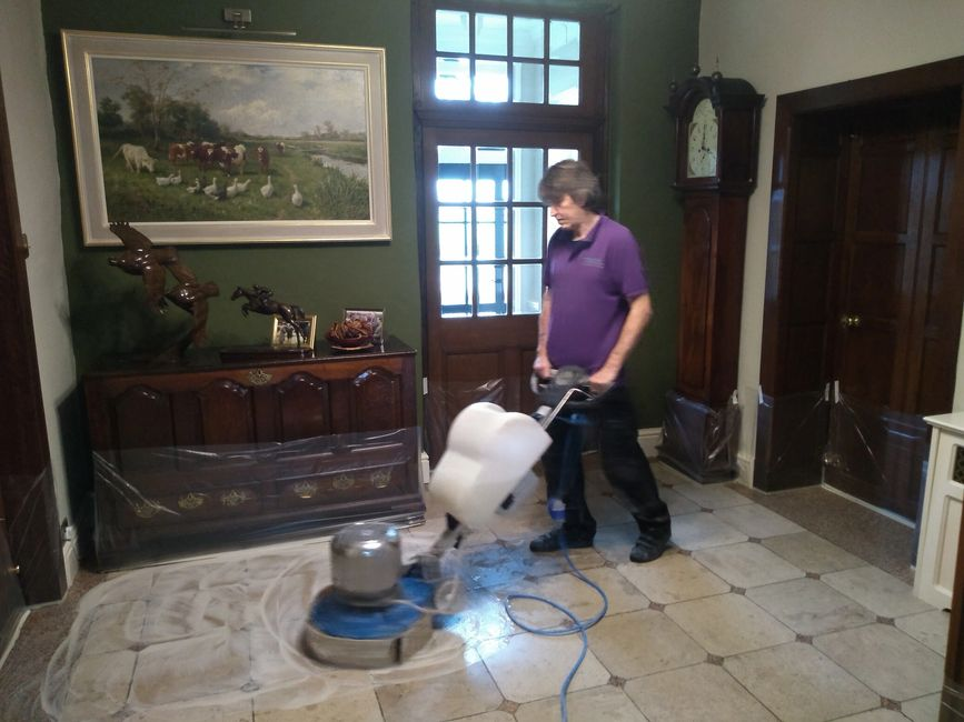 Stone floor cleaning Warwickshire, Stone floor cleaning Nottingamshire, Stone floor cleaning experts